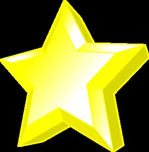 3d Star Clip Art Vector Clip Art Online Royalty Free Public