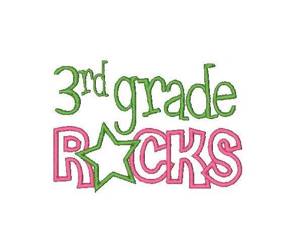 3rd Grade Clipart