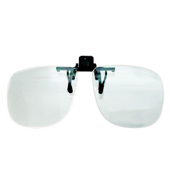 4.0 D Walters Full Frame Clip On Magnif- 4.0 D Walters Full Frame Clip on Magnifying Reading Glasses-4