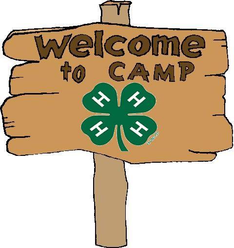 4-H Camp Sign