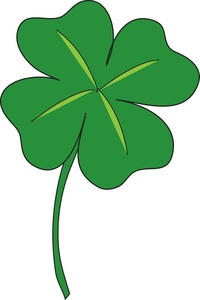 Four Leaf Clover Clipart - cl