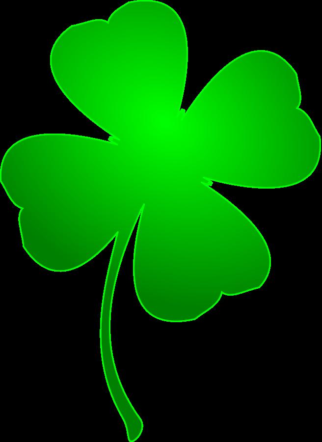 4 leaf clover clipart four leaf clover clipartall