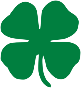 4 leaf clover clipart no background clipartall