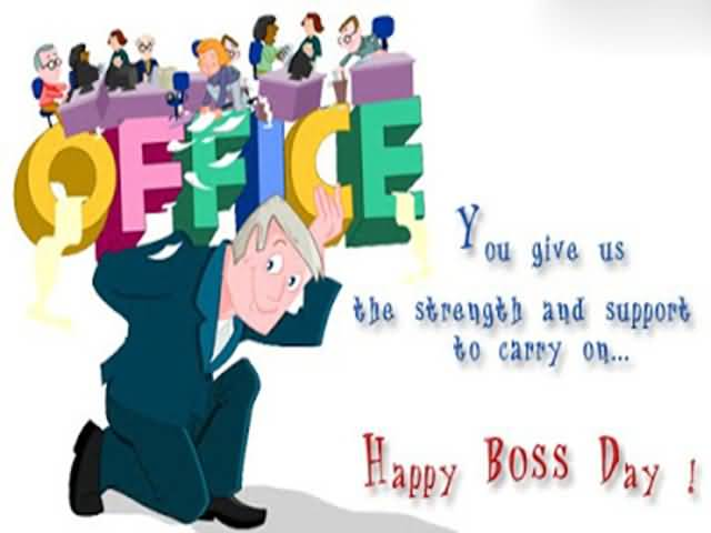 40 Wonderful Pictures And Photos Of Boss Day Greetings