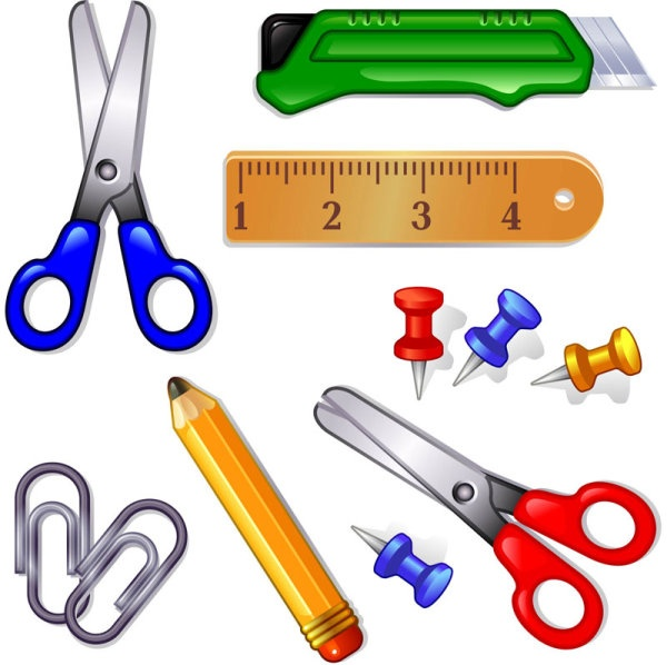 Clipart Of School Supplies