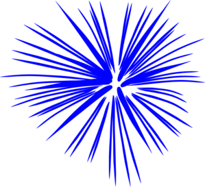 4th of july fireworks clipart png