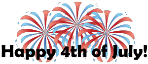 4th Of July Fireworks Clipart-4th of july fireworks clipart-1