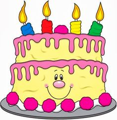 Cute Birthday Cake Clipart |