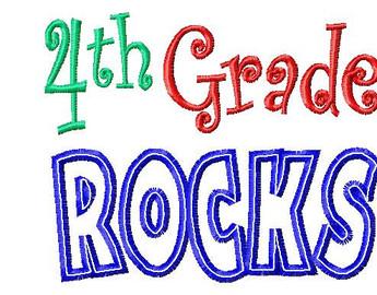 4th Grade Rocks Clipart Free Clip Art Images