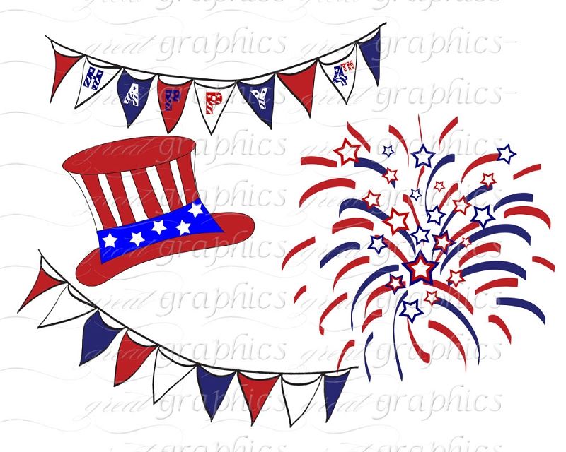4th Of July Animated Fireworks Clipart Cliparthut Free Clipart