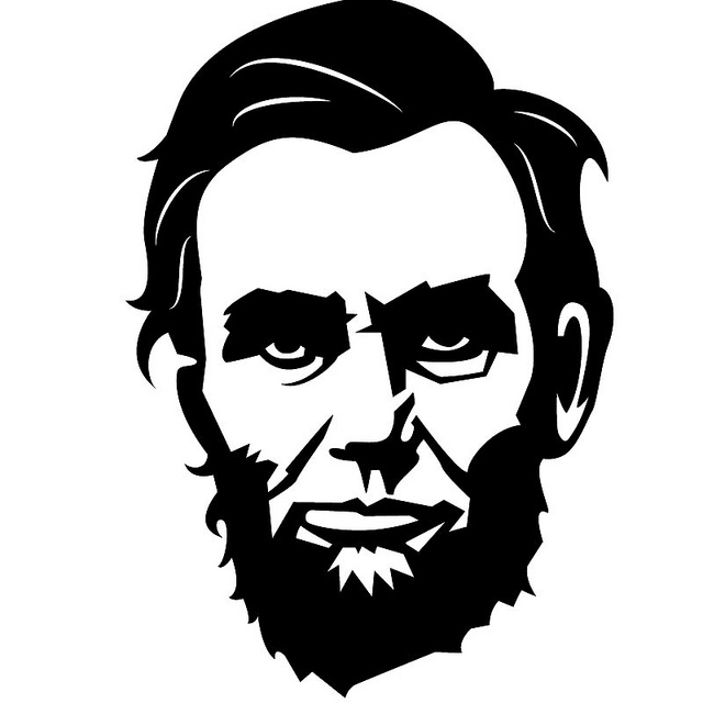 4th Of July Cartoon Abraham Lincoln Royalty Free Clipart Picture