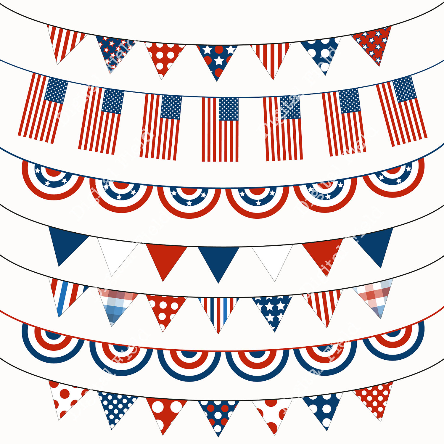 4th Of July Clipart Printable .-4th of july clipart printable .-3