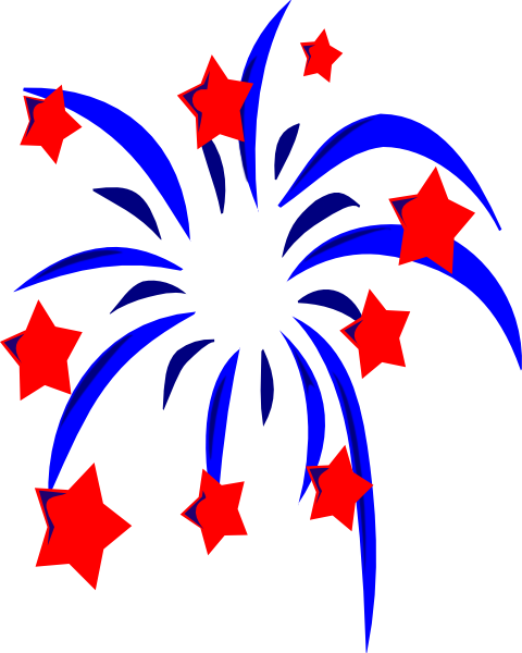 4th Of July Fireworks Clipart Png Clipart Panda Free Clipart