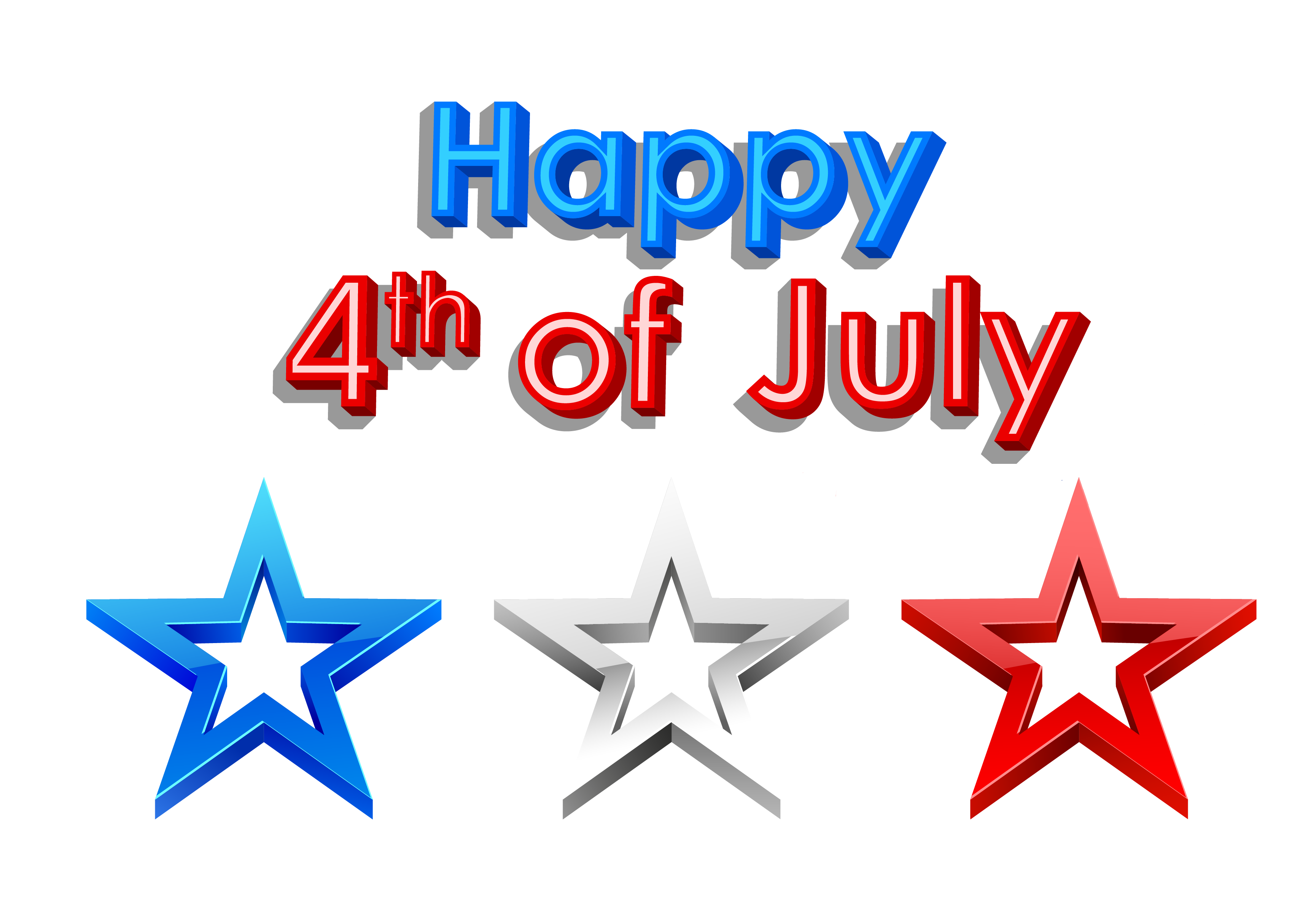 Clipart Fourth Of July