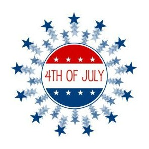 4th of july star clipart free clipart images 3