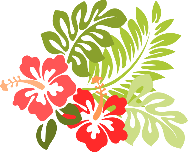 5 images of hawaiian clip art .