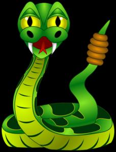 5 rattle snake clip art