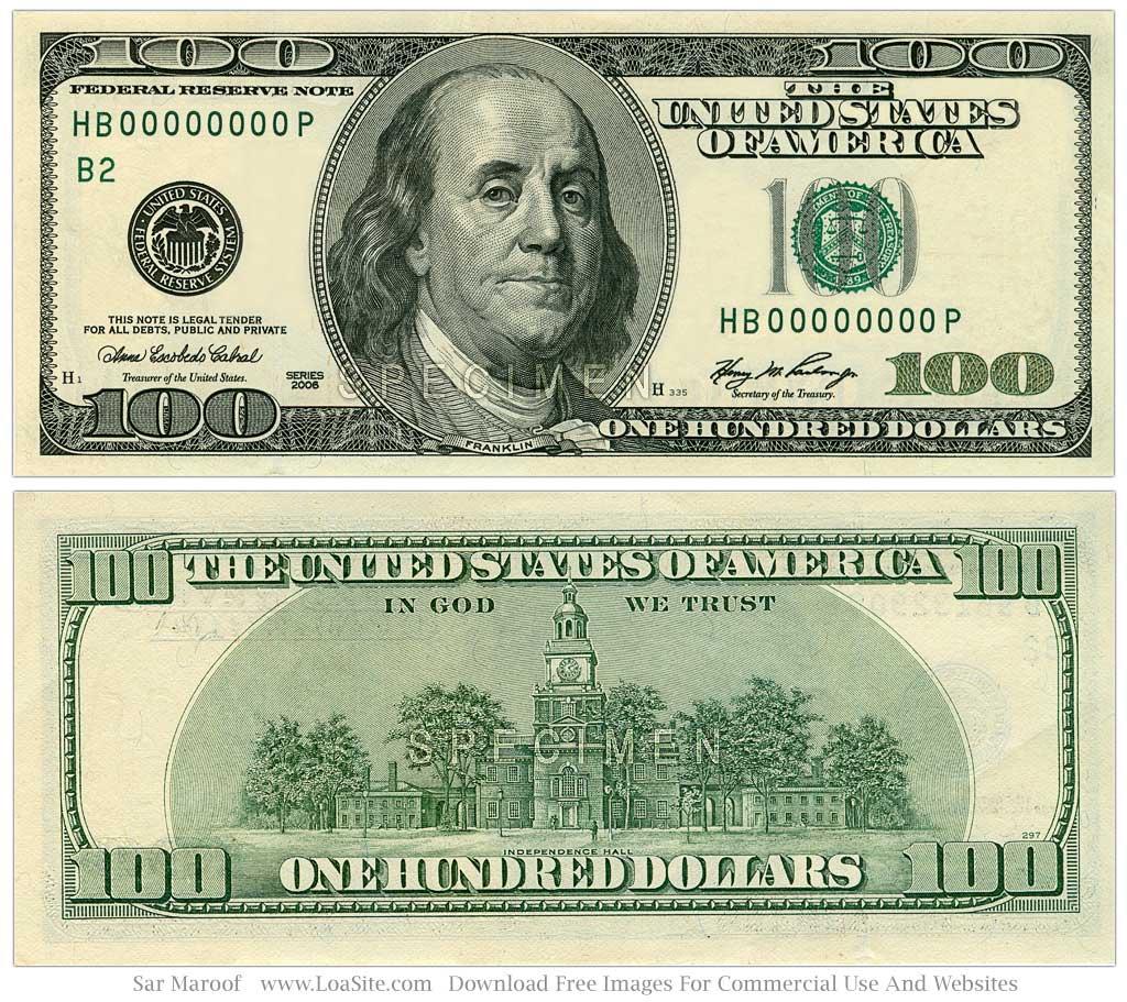 50 Dollar Bill Clip Art 100 Dollar Bill Jpg