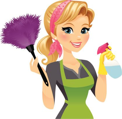50s Cleaning Lady Clip Art ..-50s Cleaning Lady Clip Art ..-0