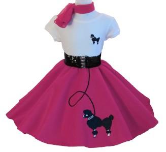 50s Poodle Skirt Clip Art