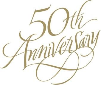 ... 50th Anniversary Clip Art ...-... 50th Anniversary Clip Art ...-2