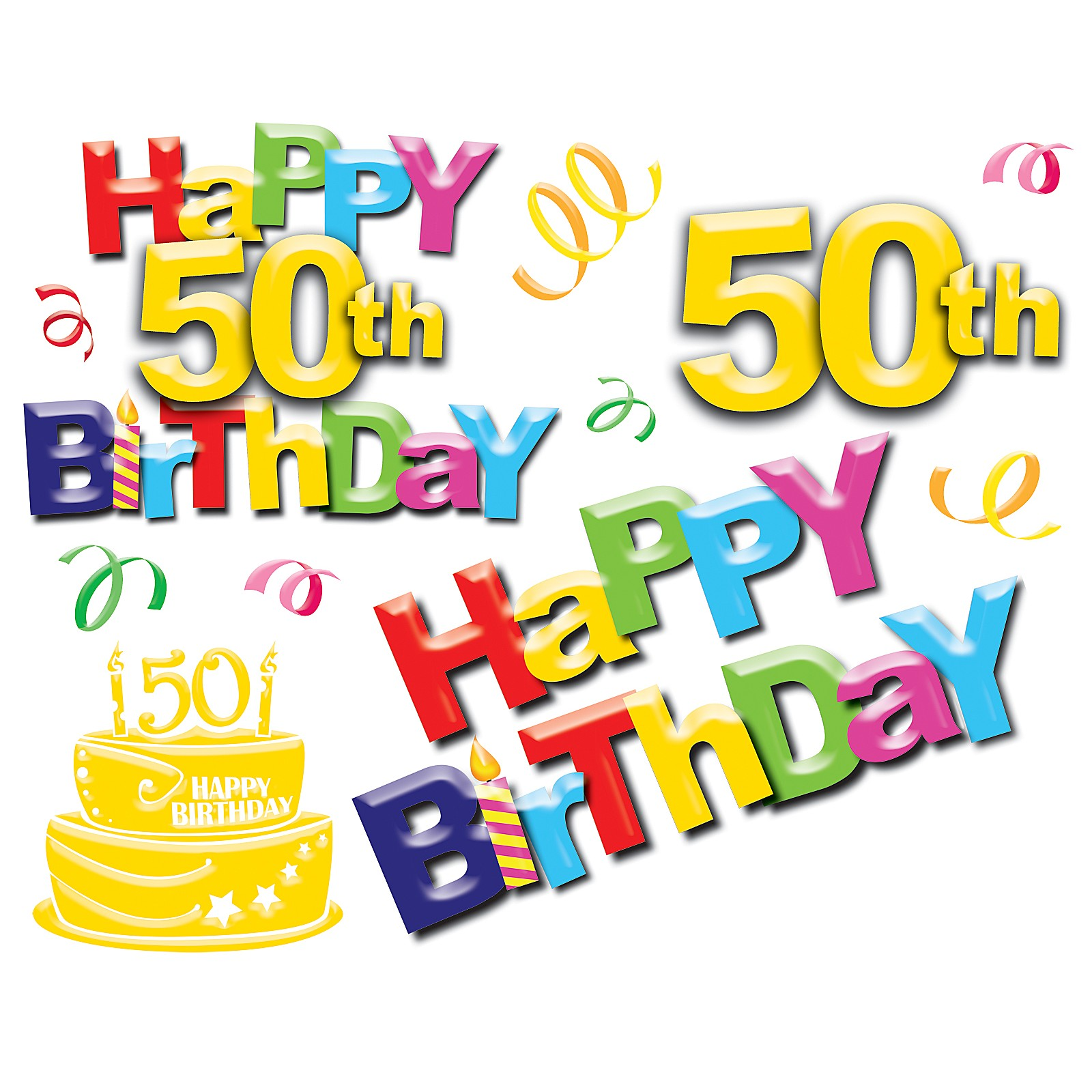 50th Birthday Clipart Clip Art ..