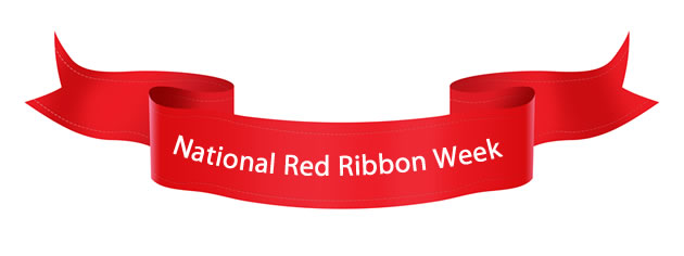 5th-6th Grade Center To Celebrate Red Ribbon Week Oct. 26-Nov. Present Ribbon Clipart