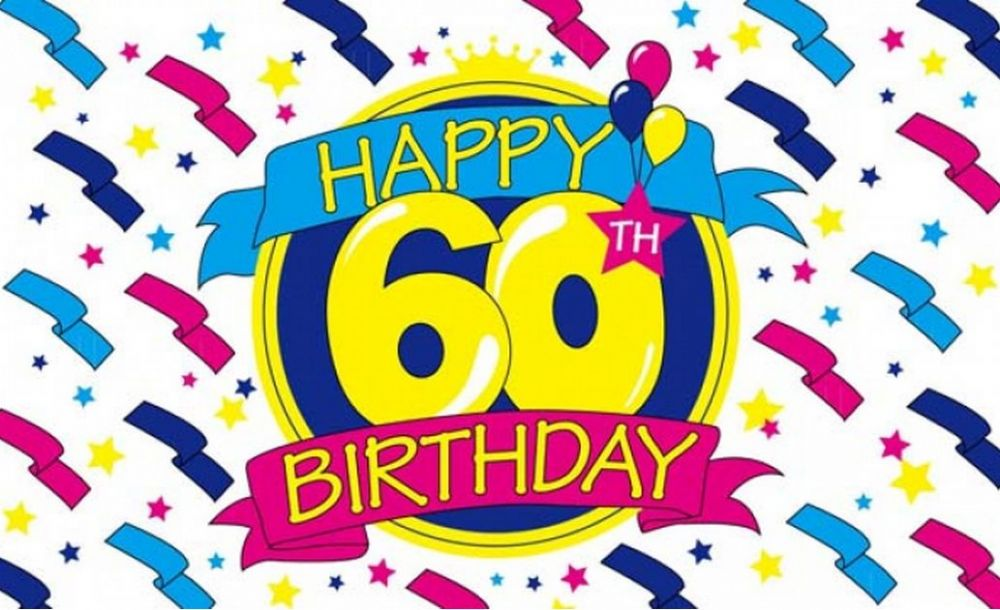 60th Birthday Clip Art Happy .