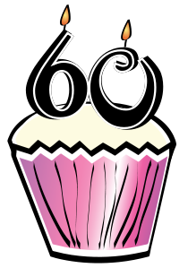 60th Birthday Cupcake 2-60th Birthday Cupcake 2-0