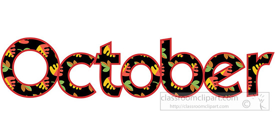 61 Free October Clipart - Cliparting clipartall.com ...