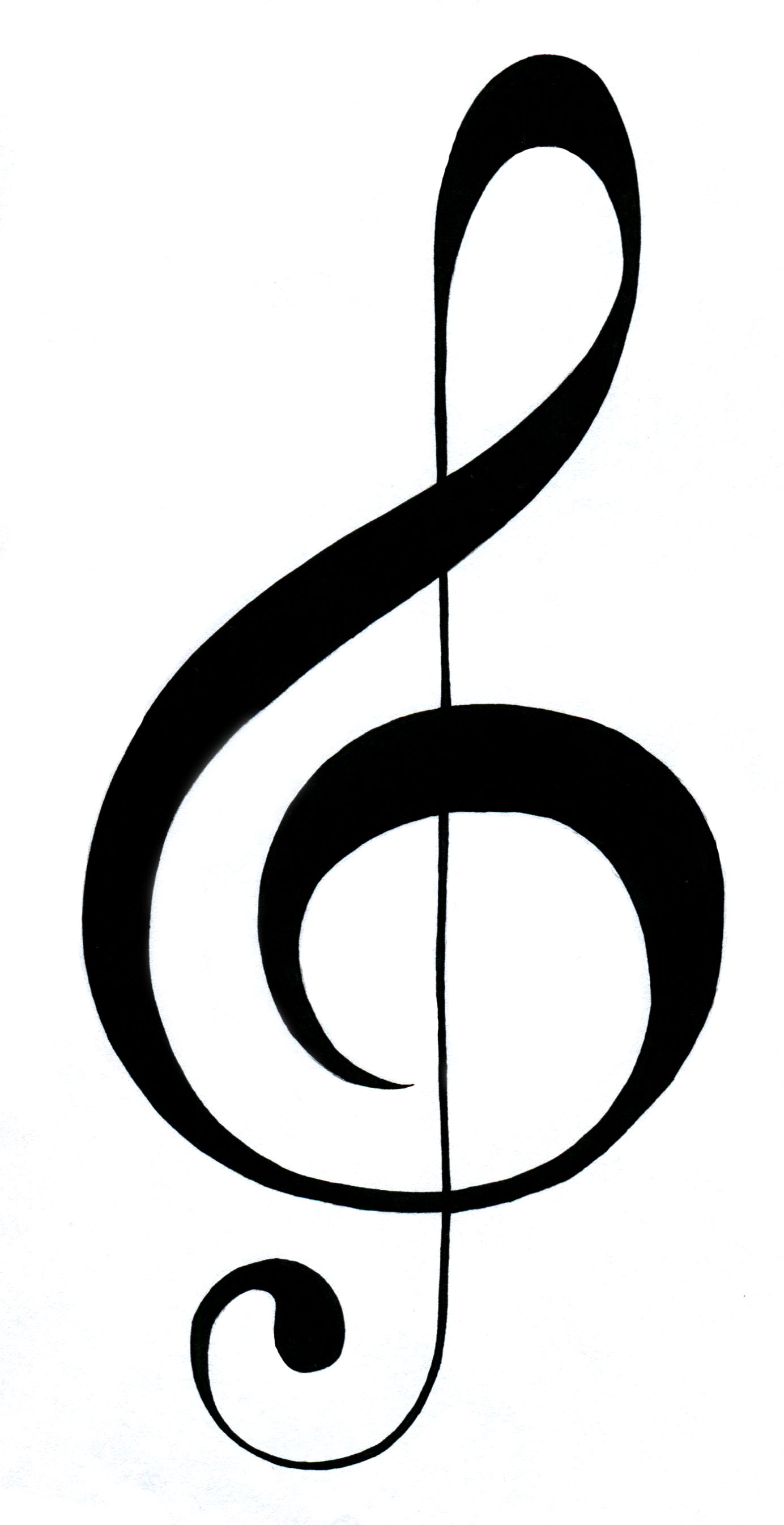 64 Images Of Picture Of Treble Clef You -64 Images Of Picture Of Treble Clef You Can Use These Free Cliparts-1