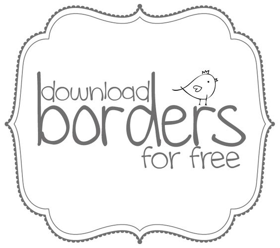 free clipart borders and fram