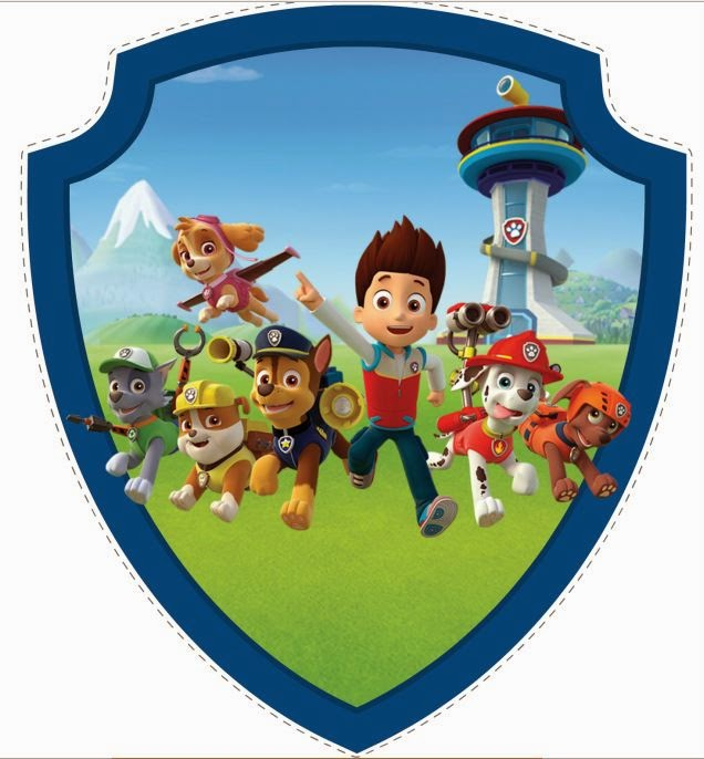 70 Paw Patrol Clipart 7 logos and 7 by OctopusDigitalStore | Patrulha  Canina | Pinterest | Digital image, Awesome and Backgrounds