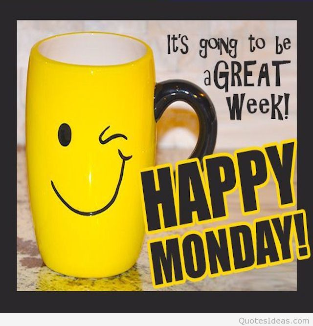 ... 712d82305f590dd1ed9ccd4ed - Happy Monday Clipart