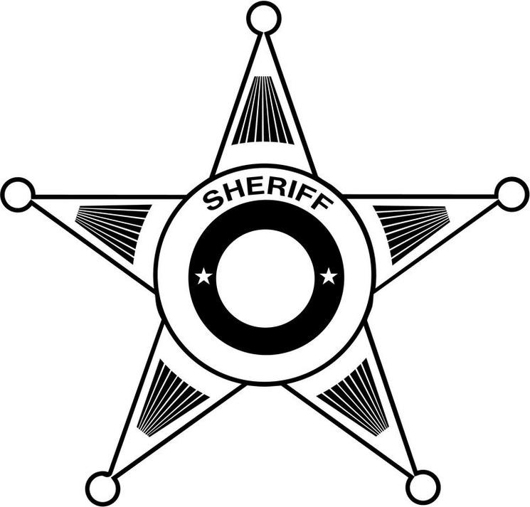 73 24 Sheriff Badge