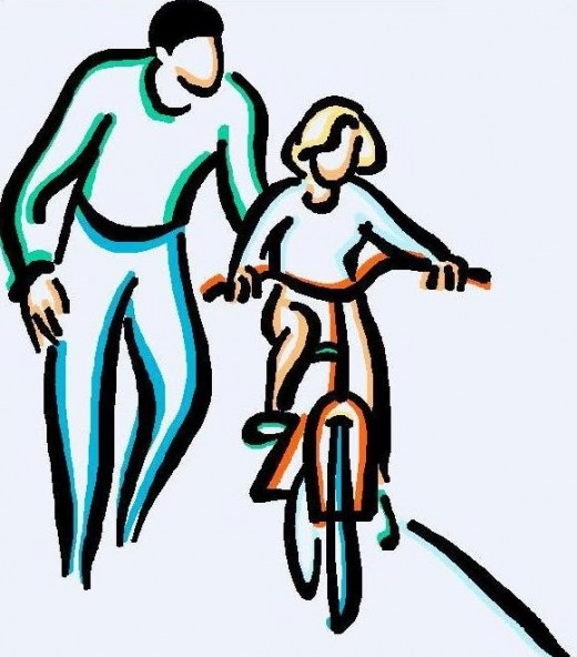Father Daughter Clipart