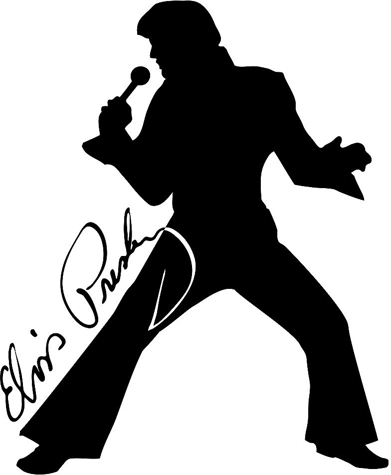 78  Images About Elvis Silhouettes On Pi-78  images about Elvis Silhouettes on Pinterest | Clip art, Rock roll and Stencils-3