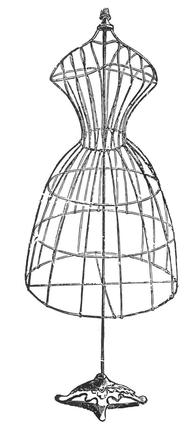 78  images about Vintage Dress Form Printables on Pinterest | Romantic gifts, Antigua and Vintage art
