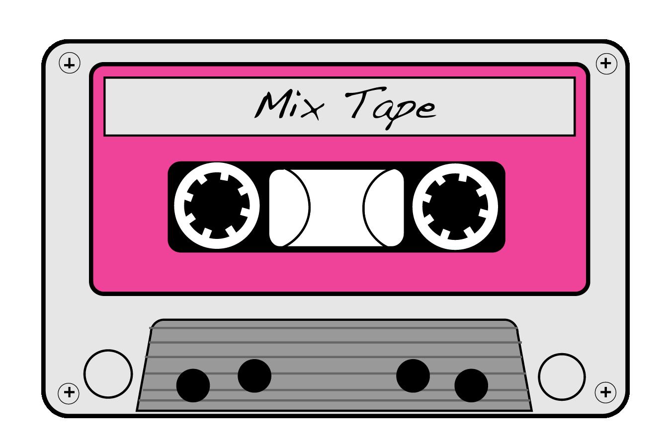 80s Cassette Tape Clipart