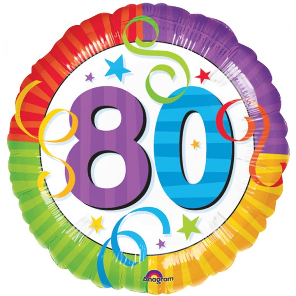 80th Birthday Free Clipart #1