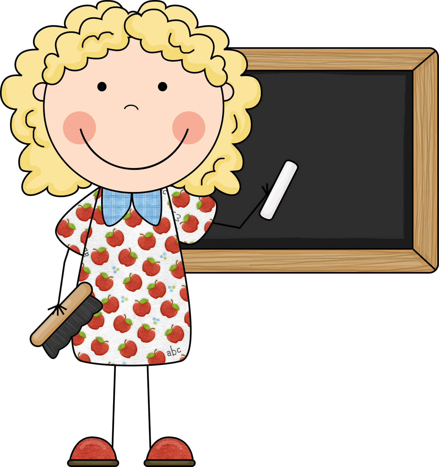 Student at Teachers Desk