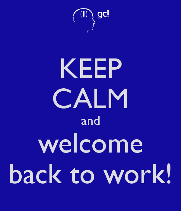 8972de0e367557cf196233a840ab2 - Welcome Back To Work Clipart