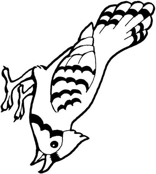 9 Blue Jay Coloring | Free Coloring Page Site