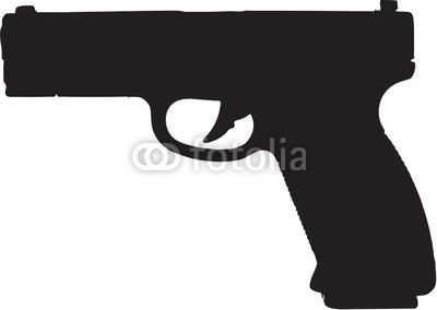 Pistol Clip Art