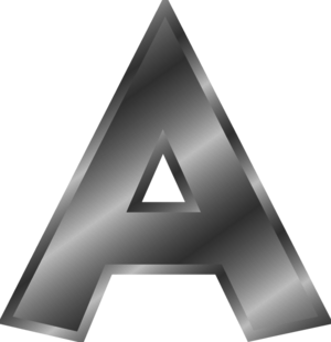 A Alphabet Letter - Vector Clip Art ...-A alphabet letter - vector Clip Art ...-7