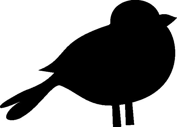 A black bird clip art 2