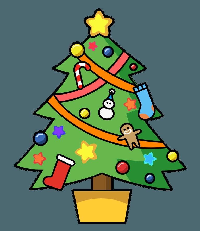Xmas Tree Clipart