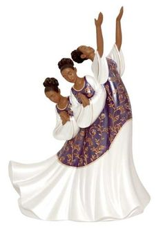 A collection of art and gifts featuring African-American praise dancers that use their gift to glorify and give praise to him through whom all blessings ...