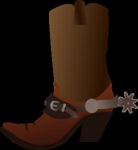 A Cowboy Christmas Boot Cowboy Boots Cli-A cowboy christmas boot cowboy boots clip art and cowboys image-0