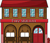 ... A fire station